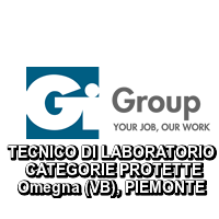 TECNICO DI LABORATORIO CATEGORIE PROTETTE Omegna (VB)