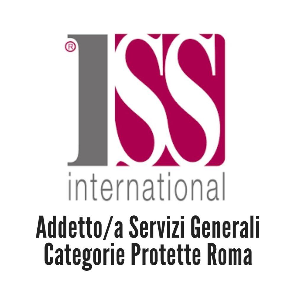 Addetto/a Servizi Generali Categorie Protette Roma
