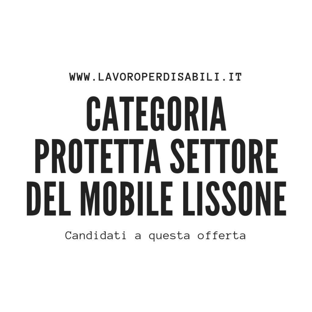 Categoria Protetta Settore del mobile Lissone